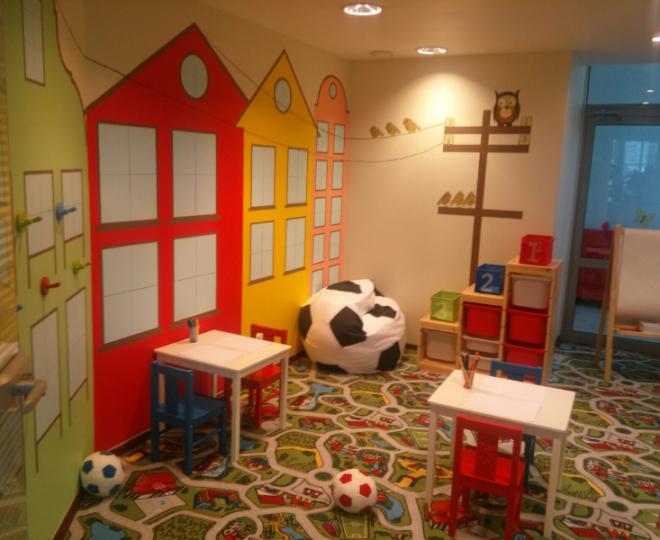 Счастливое детство — детская комната, автоцентр «Лексус»