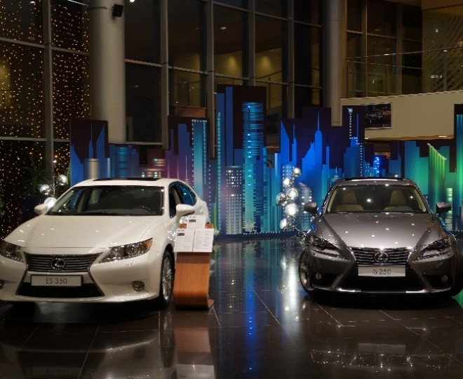 Токио — автоцентр «Лексус»